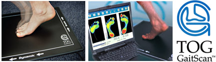 Using Gaitscan